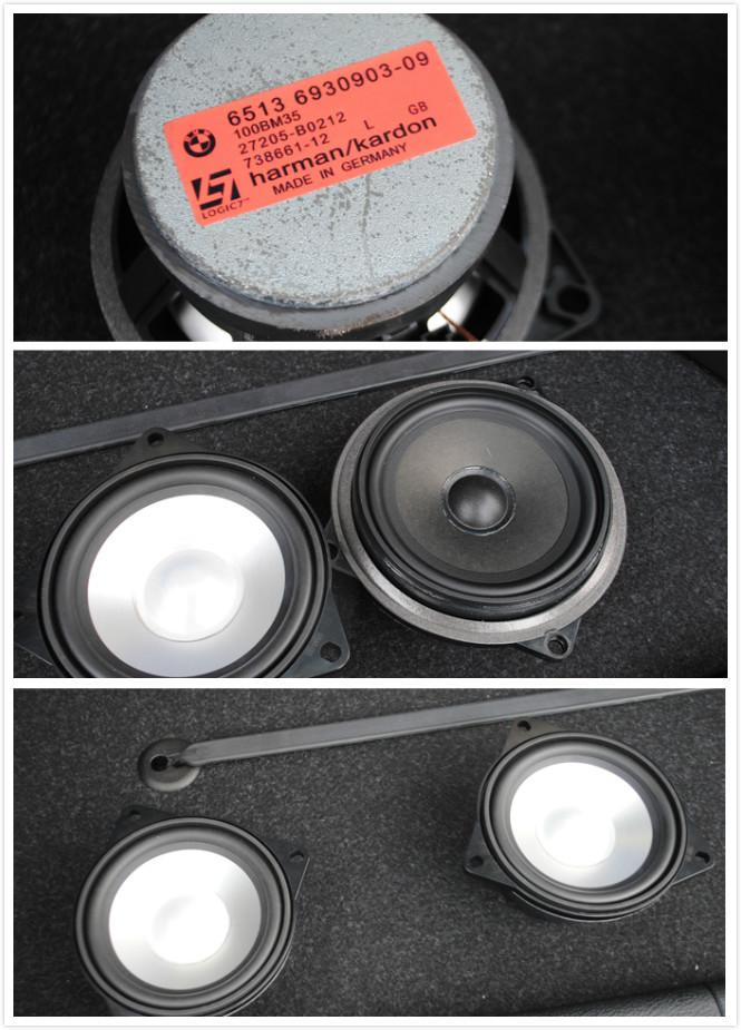 改装宝马X1音响Lg7